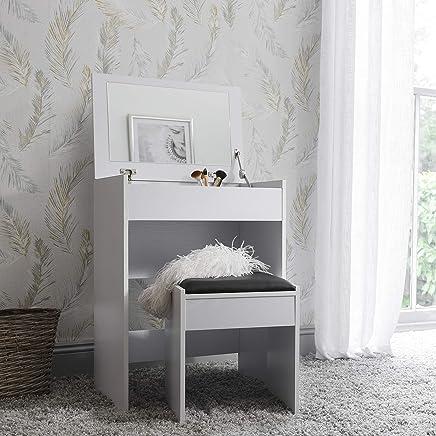 Astonishing Amazon Co Uk Modern Dressing Tables Bedroom Furniture Home Interior And Landscaping Ponolsignezvosmurscom