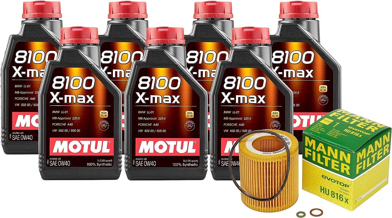7L 8100 Xmax 0W40 Filter Motor Oil service F12 Change Ranking TOP12 640i Kit Turbo F13
