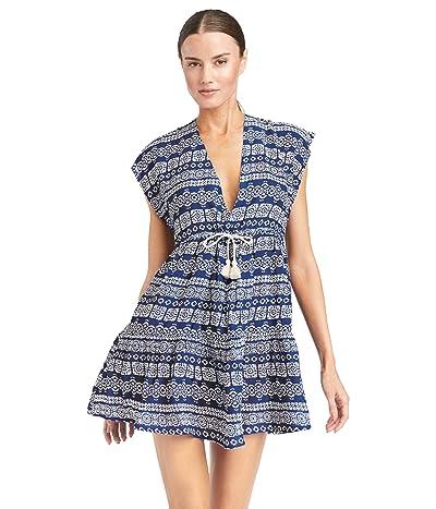 Robin Piccone Isla Dress w/ Front Tie