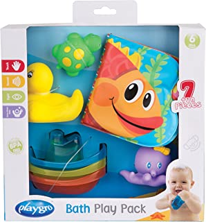 Playgro Bath Play Gift Pack for Baby Infant Toddler Children 0185257, Playgro is Encouraging Imagination with STEM/STEM for a Bright Future - Great Start for a World of Learning