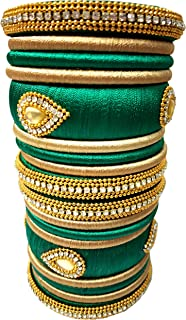Best gold silk thread bangles Reviews