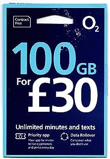 「Mewfi 」O2 イギリス他ヨーロッパ各国対応 プリペイドSIM (30日間 20GB 5000分無料通話)