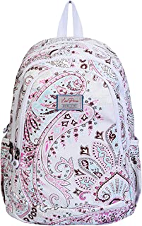 Lino Perros Women Multi Colored Paisley Print Backpack