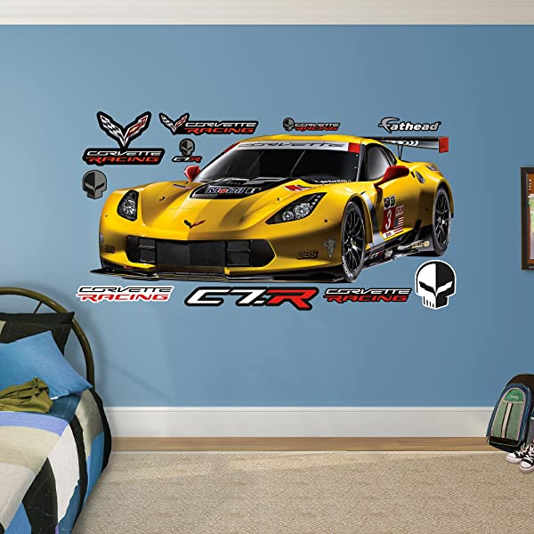 FATHEAD Corvette C7R Real Decals