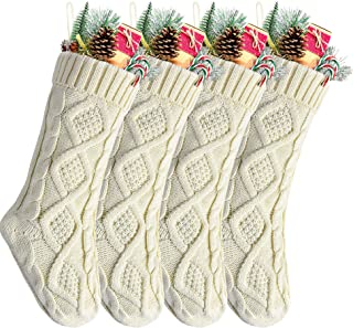 Best knitted wool christmas stockings Reviews