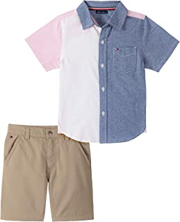 Boys' 2 Pieces Shirt Shorts Set