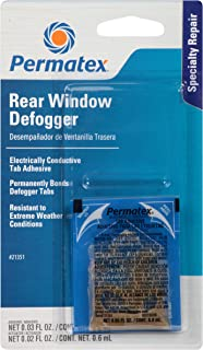 Permatex 21351 Electrically Conductive Rear Window Defogger Tab Adhesive