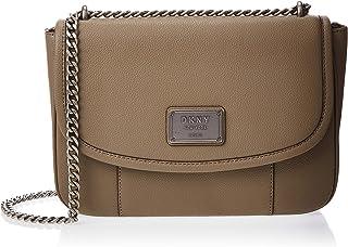 DKNY Crossbody Bag for Women- Mushroom