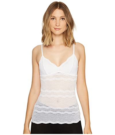 Cosabella Dolce Long Camisole (White) Women