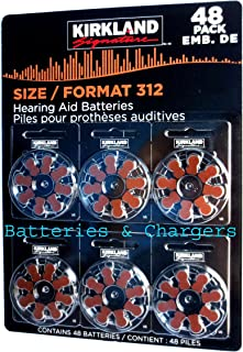 Hearing aid batteries size 312 1.45 Volt Mercury free