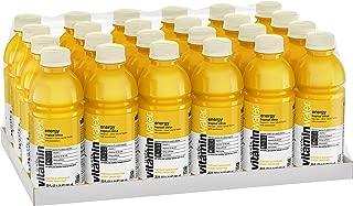 vitaminwater energy electrolyte enhanced water w/ vitamins, tropical citrus drinks, 20 fl oz, 24 Pack