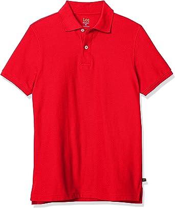 Lee Uniforms Men's Modern Fit Short Sleeve Polo Shirt : Color - Black, Size - 3X-Large (B007BLNKZS)