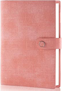 $24 » Sponsored Ad - Binder Leather Journal Writing Spiral Notebook, 6 Ring Binder Refillable Diary, A5 Vintage Planner Personal...