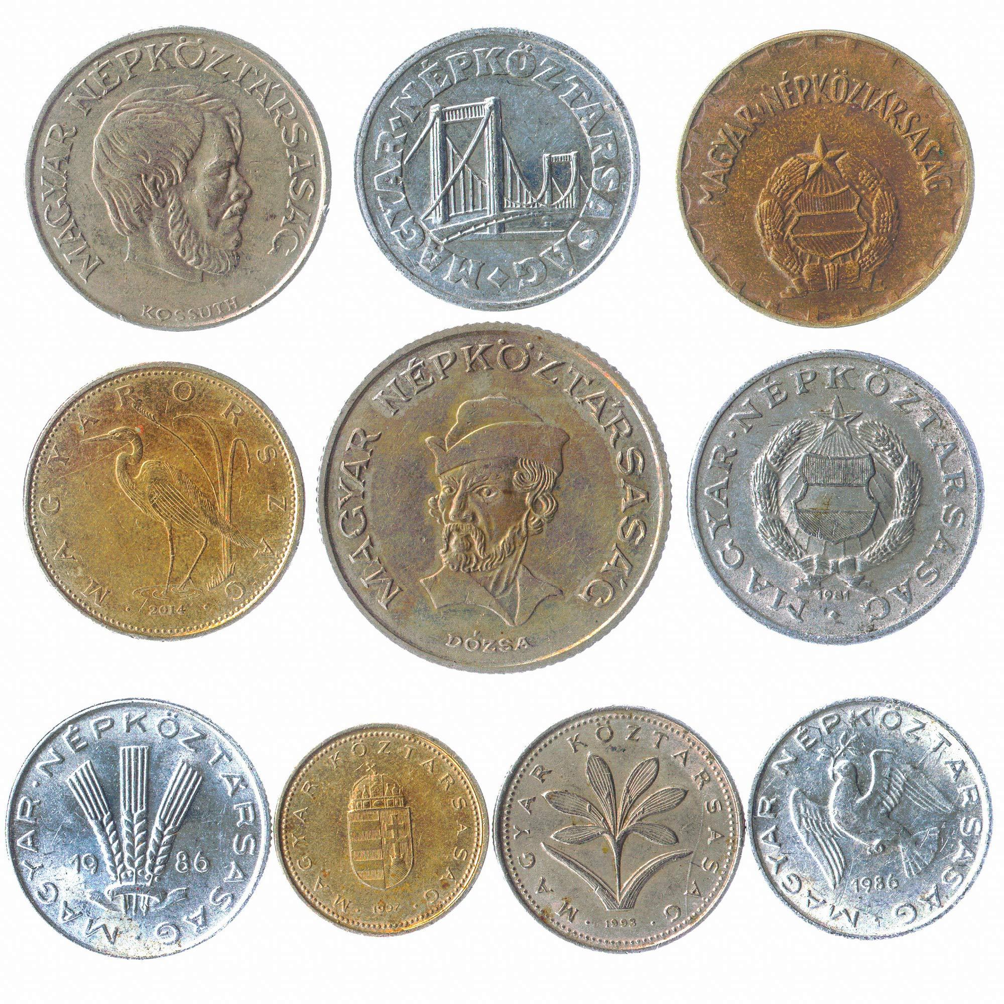 10 عملات قديمة من المجر. العملات الهنغارية النادرة: حشو ، فورنت. اختيار  مثالي لبنك العملات الخاص بك وحاملي العملات المعدنية وألبوم العملات  المعدنية: Buy Online at Best Price in UAE - Amazon.ae