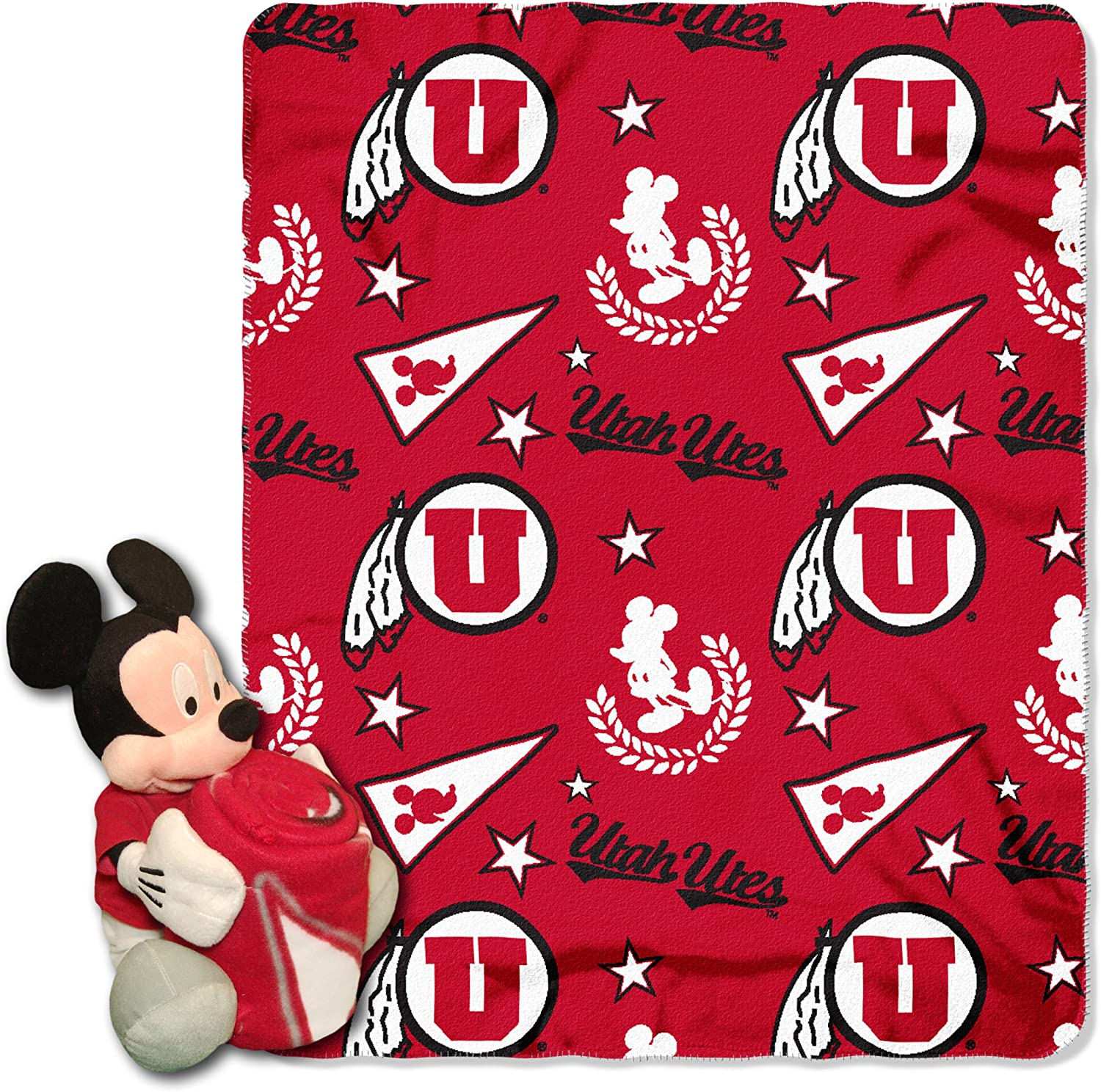 New product! New type Indefinitely Officially Licensed NCAA Co-Branded Mickey Disney's Mouse Hugger