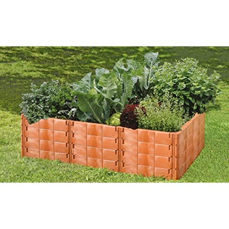 Juwel jardin Bloc de construction T Connecteur Terracotta pour vos parterres Hochbeet 20362
