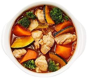 [冷蔵] ミールキット チキンと緑黄色野菜のトマトソース煮込みキット 2~3人前