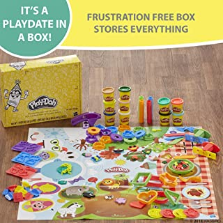 Play Doh Play Date Party Crate Arts & Crafts