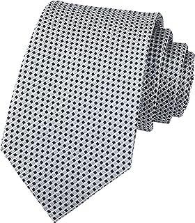 Secdtie Men's Classic Solid Color Ties Soft Business Casual Attire Suit Neckties