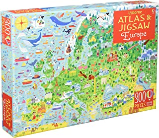 Usborne Atlas and Jigsaw Europe