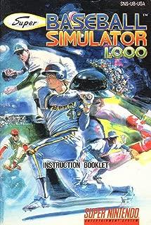 Best baseball simulator snes Reviews