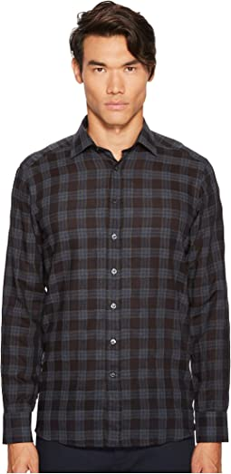 Etro - Check Button Down Shirt