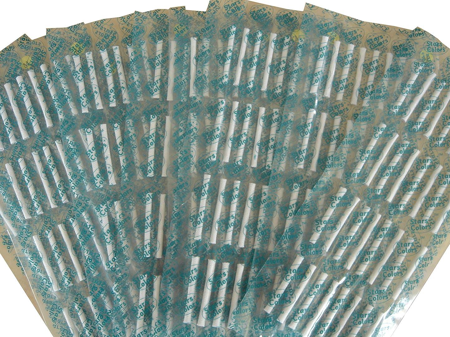 ラフレシアアルノルディロゴちっちゃいまつげパーマ用☆粘着式ロット1シート32本 10枚セット (粘着ロットSサイズ)