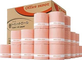 トイレットペーパー シングル【業務用】オフィス・デポ オリジナル トイレットロール 芯なし シングル 150m 1箱(36ロール)