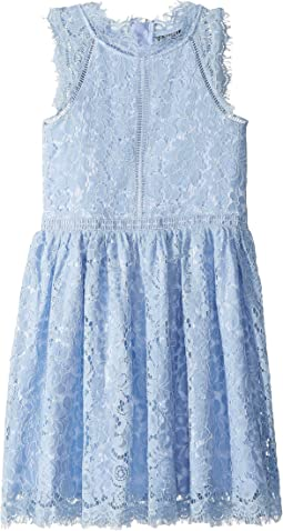 Lace Panel Dress (Big Kids)