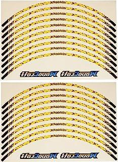(モノクラフト)MonoCraft スズキ Vストローム250 リムステッカー SET TYPE-03 (イエロー) MC-VST_03-Y