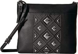 Calvin Klein - Classic Pebble Key Item All Over Pyramid Stud Embellished Crossbody