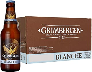 Grimbergen BirraBlanche (Abbazia)- 24 bottiglie da330 ml