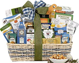 Wine Country Gift Baskets Gourmet Feast Perfect For Family, Friends, Co-Workers, Loved Ones and Clients. A Great Gift This Holiday Season