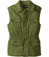 Hudson Kids - Twill Utility Vest with Embroidery (Big Kids)