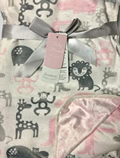 Safari animals baby blanket by dreamers