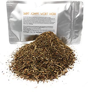 St. John's Wort - Loose Dried Herb Premium Quality - Tea Infusion   Saint Johns Wort for Mood Support - Promotes Mental He...