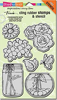 Stampendous Cling Build a Bouquet Stamp Set