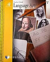 Lifepac Language Arts Teacher's Guide Grade 5