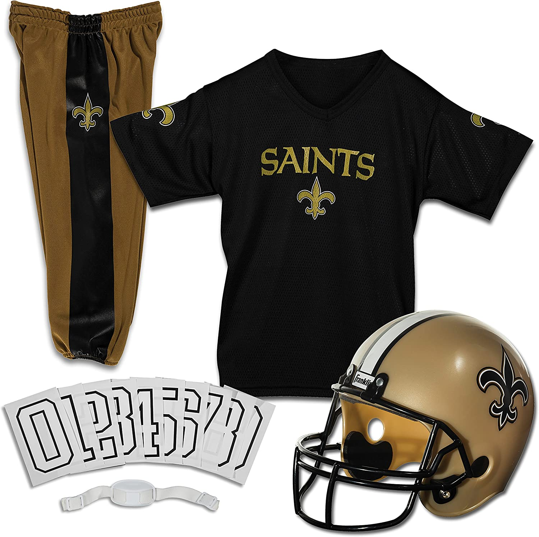 Franklin Large discharge sale Sports New Orleans Saints Kids Large-scale sale N Set - Football Uniform