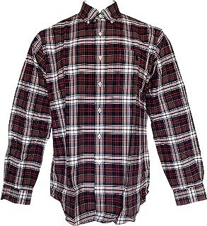 Men's Lightweight Classic Fit Flannel Shirt Long Sleeve Plaid Shirts