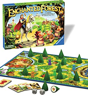 Ravensburger Enchanted Forest Classic Family Board Game for Kids Age 4 Years and Up - Magical Treasure Hunt