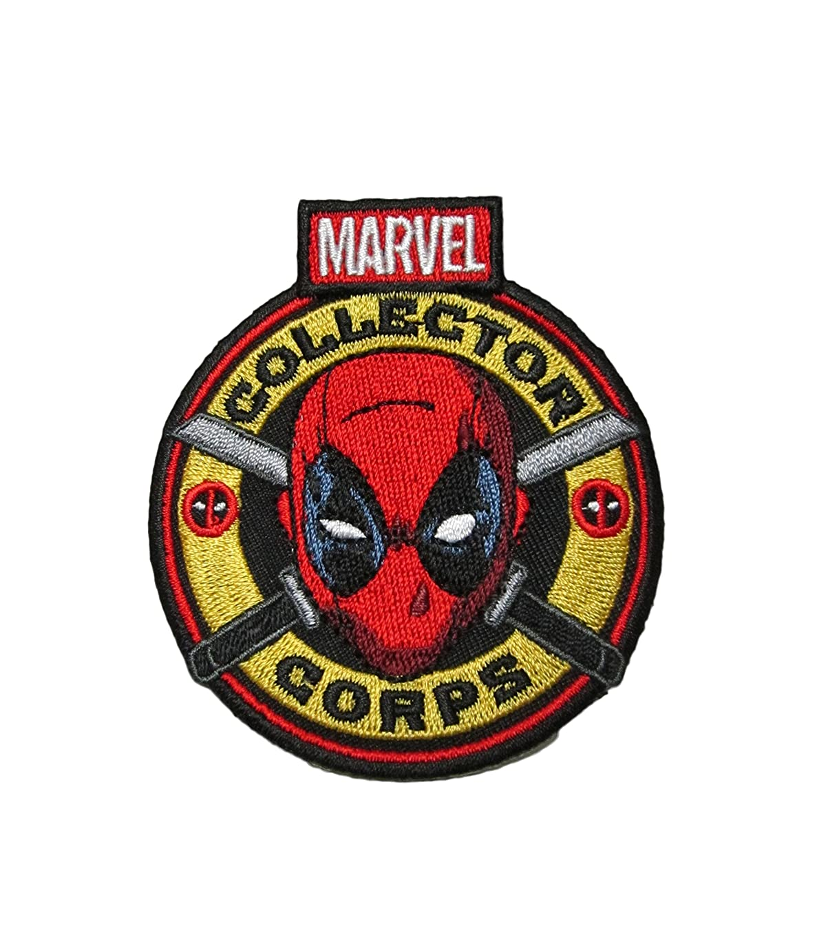 Marvel Collector Corps Deadpool Collectors Patch- Iron On Patch