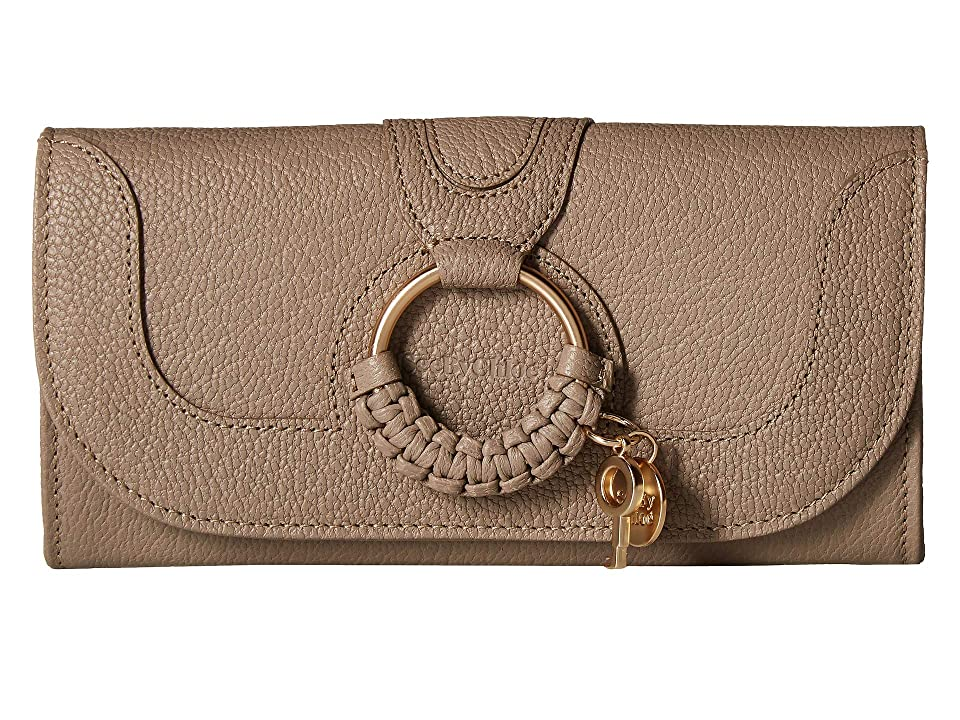 See by Chloe Hana Continental Wallet (Motty Grey) Handbags