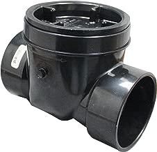 Canplas 73006 Backwater Valve, 3-Inch ABS, Black