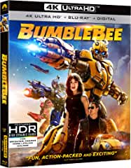 BUMBLEBEE arrives on Digital March 19th and on 4K Ultra HD, Blu-ray and DVD April 2nd from Paramount