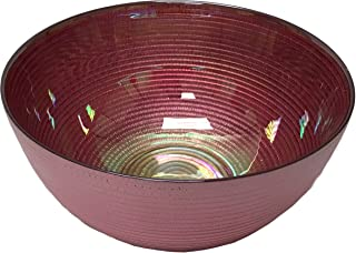 Circleware 03125 Radiance Glass Serving Mixing Fruit Bowl Glassware for Salad, Punch, Beverage, Ice Cream, Dessert, Food and Best Selling Home & Kitchen Decor Gifts, 10.5