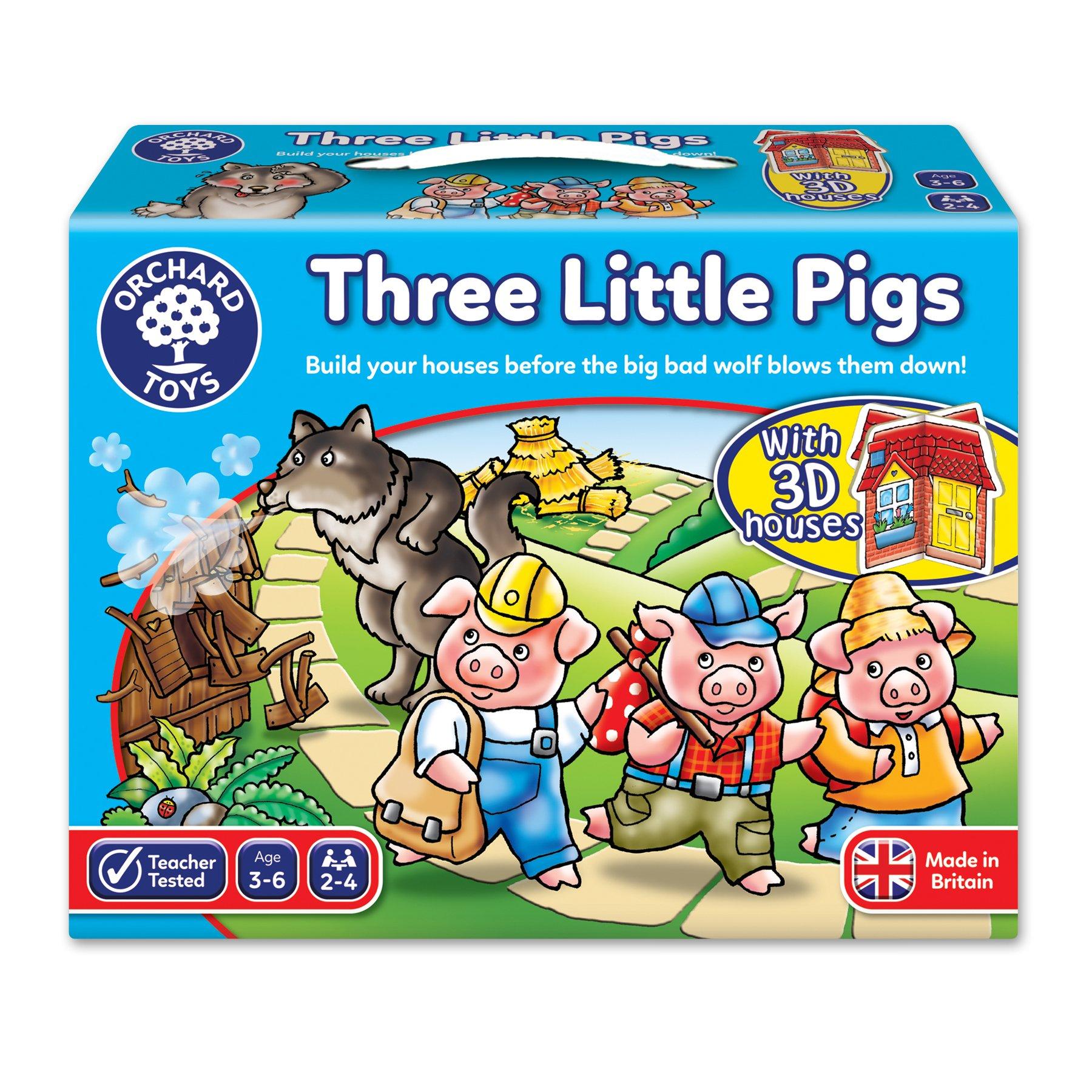 Orchard Toys 桌面游戏 三只小猪