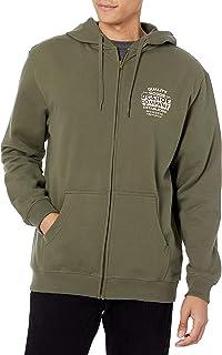 DC Men's Company Goods Zh Full Zip Fleece Sweatshirt Hooded