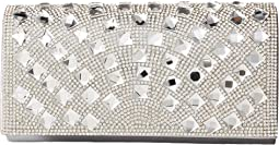 Chloe Fold-Over Crystal Clutch