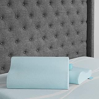 Tempur-Pedic ProForm Cooling Neck Pillow, Memory Foam, Ergonomic Design, 5-Year Warranty